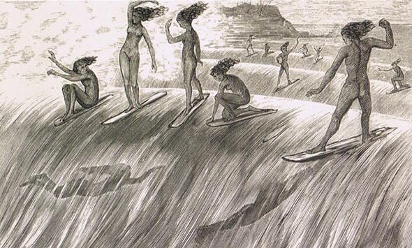 серфинг, история, доска для серфинга, волна