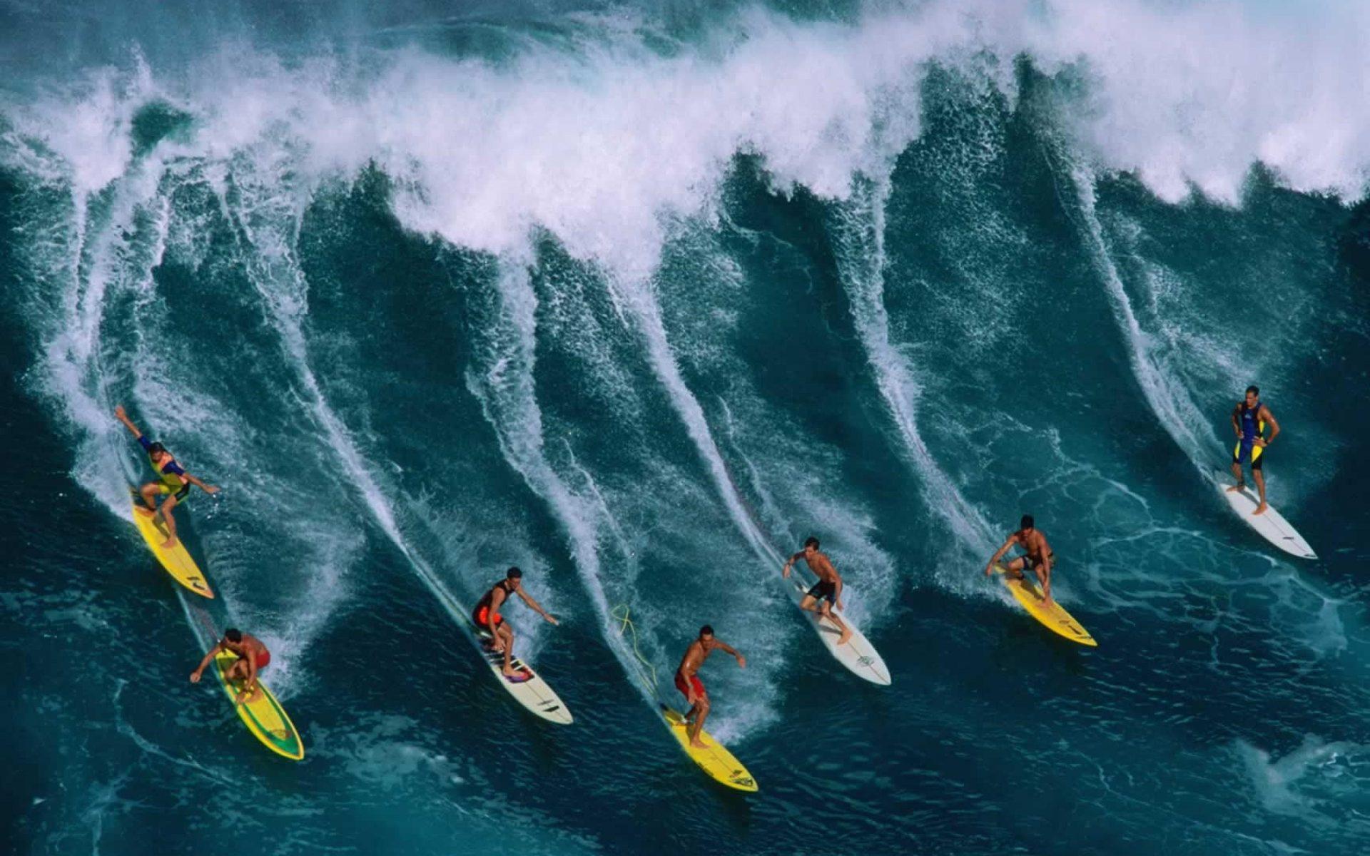 волна, серфинг, доска