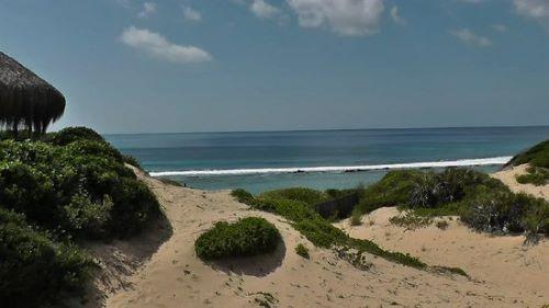 пляж, торфо, мозамбик, серфинг, волна. доска