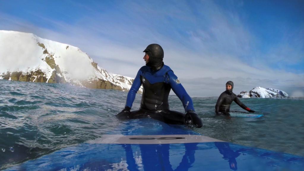 серфинг, зимний, камчатка, волна, гидрокостюм