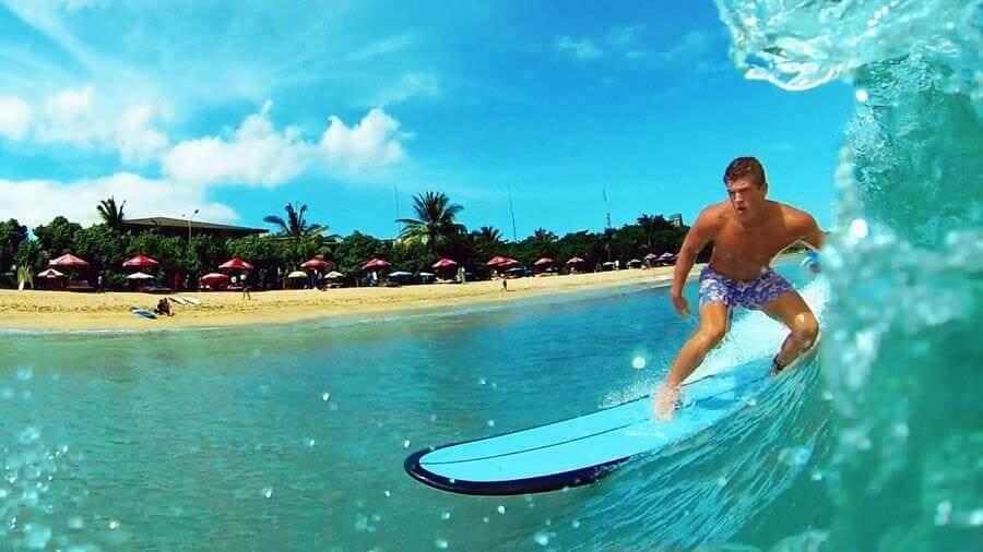 серфинг, индонезия, ява, ветер, море, доска