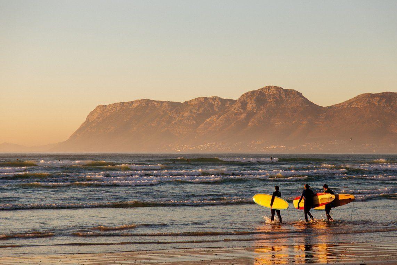 серфинг, юар, доска, ветер, волна, море