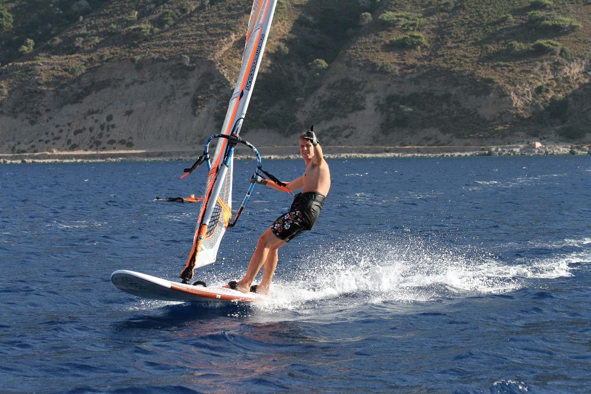 серфинг, волна, доска, ветер
