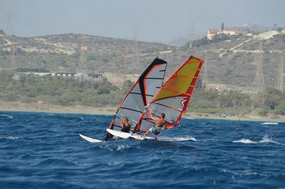 виндсерфинг, волна, море, ветер, доска, парус