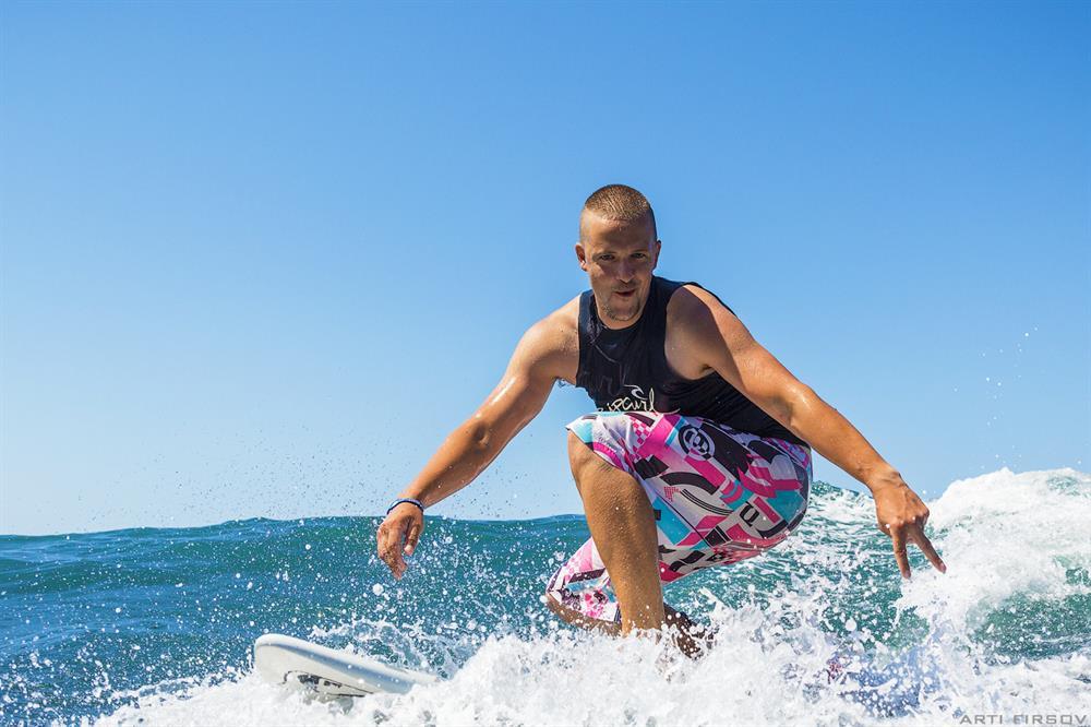 серфинг, доска, волна, ветер, море, анпа
