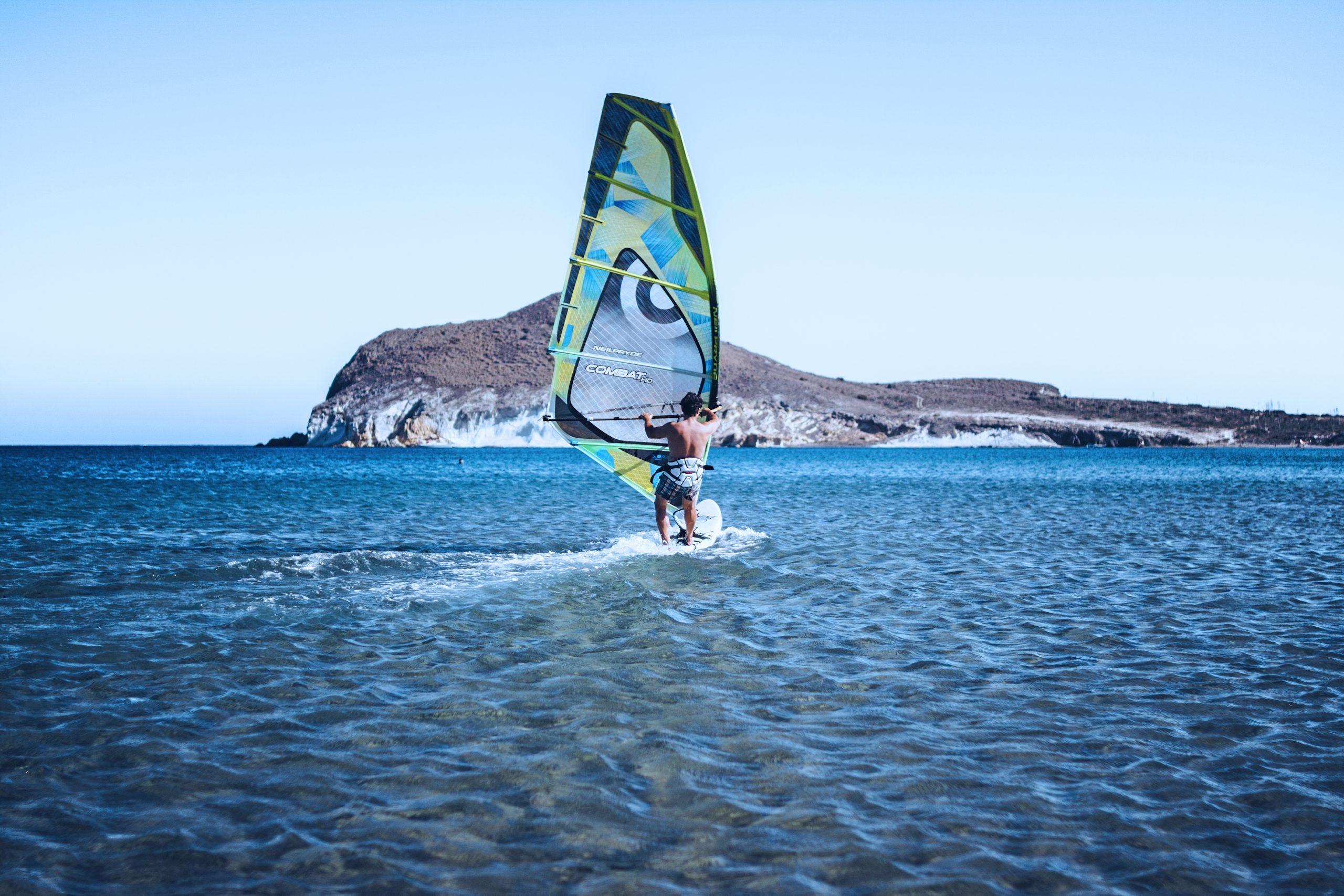 виндсерфинг в сардинии
