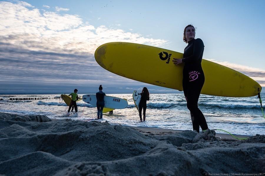 калининград, серфинг, ветер, море, доска