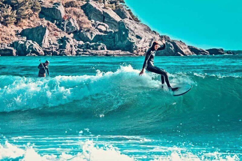 спот, крым, серфинг, волна, ветер, доска