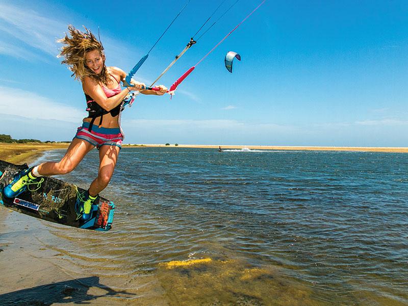 кайтсерфинг, ветер, море,