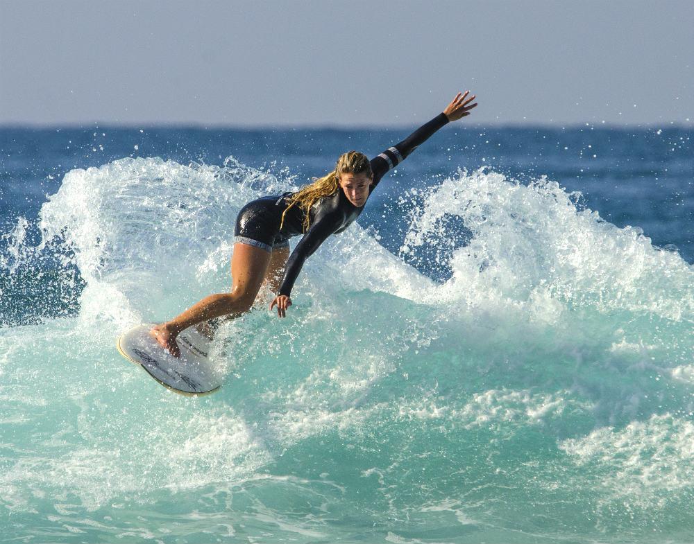серфинг, испания, море, солнце, волна, доска