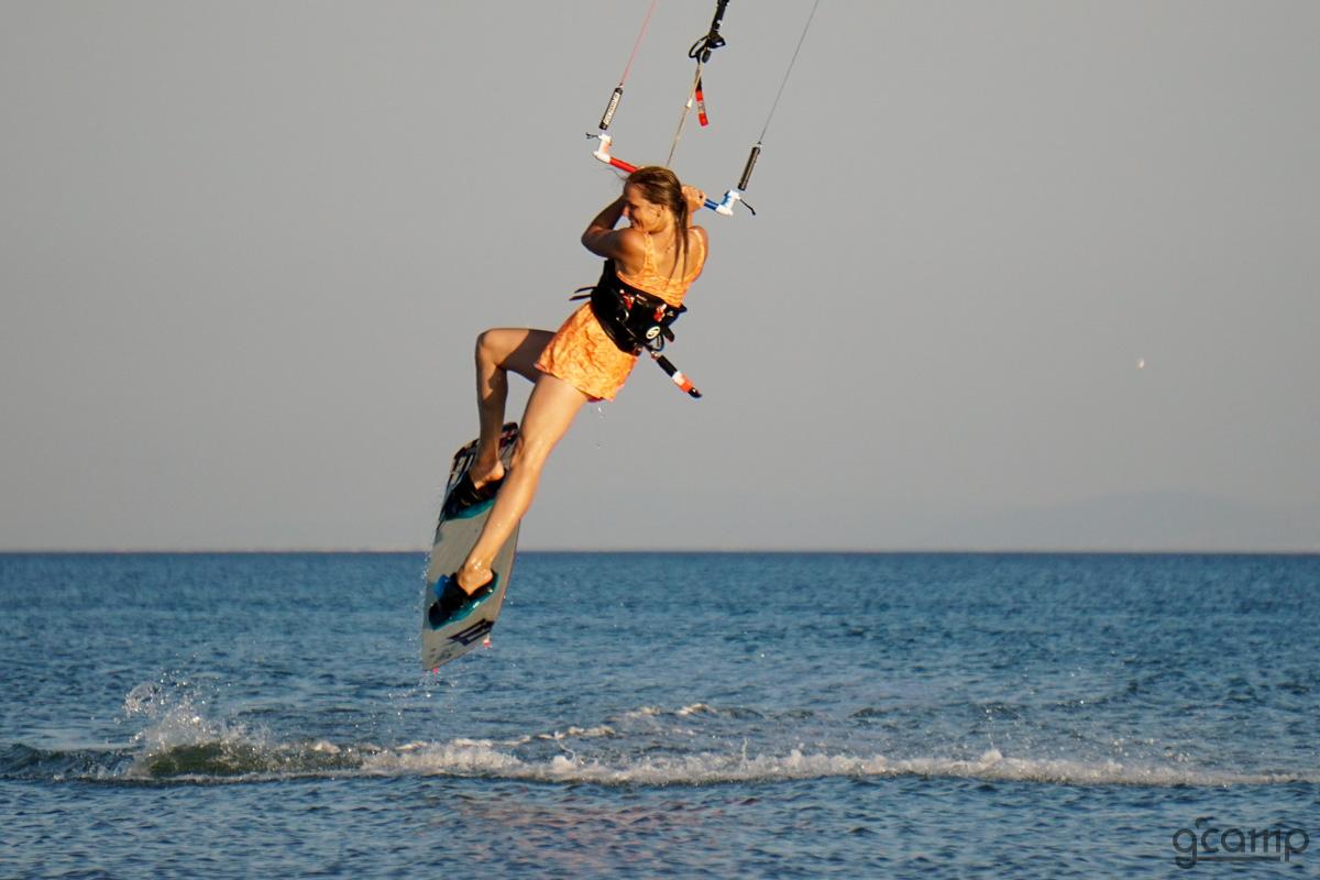 кайтсерфинг, волна, ветер, змей море