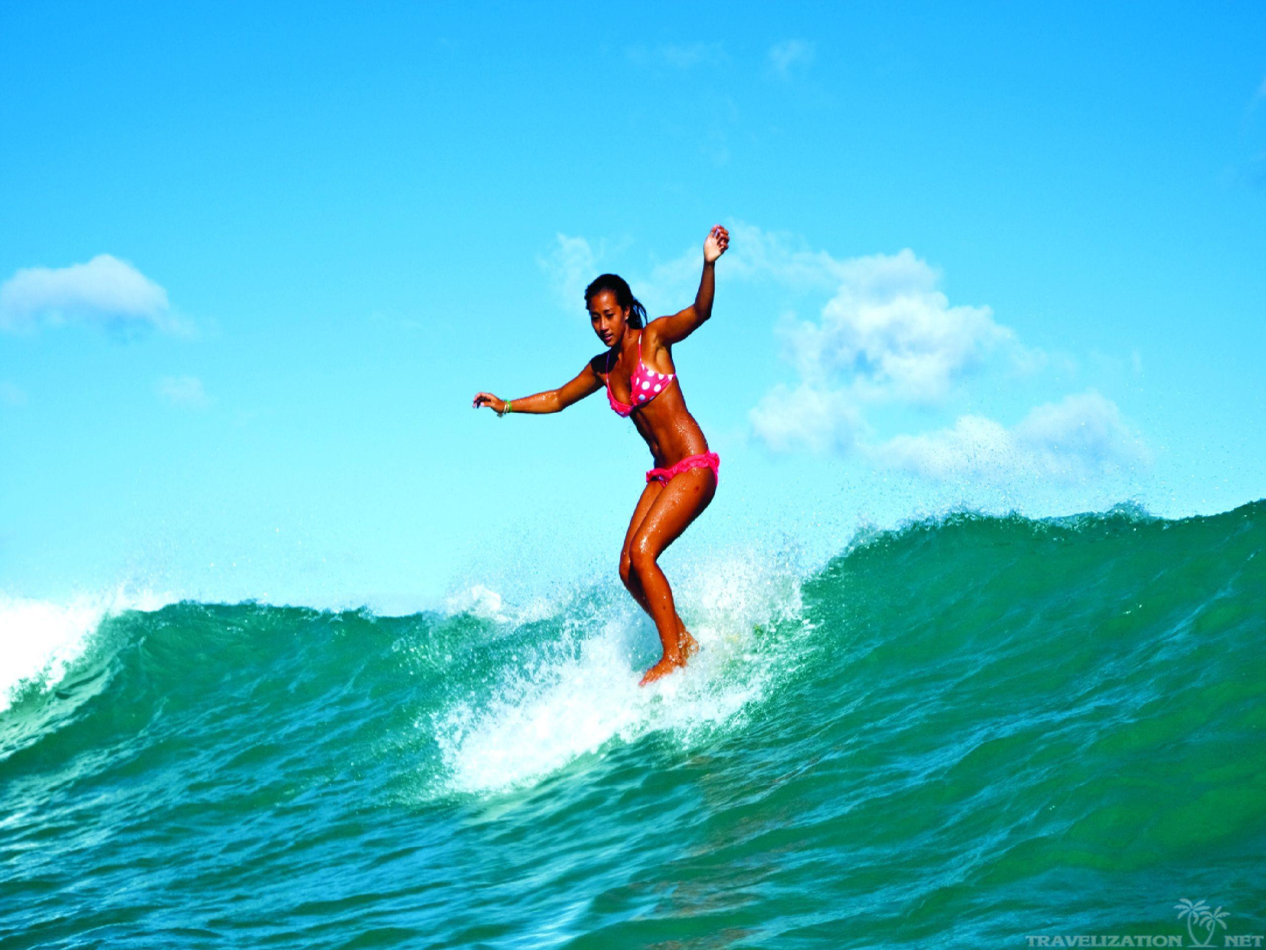 солнце, серфинг, море, доска, волна. ветер