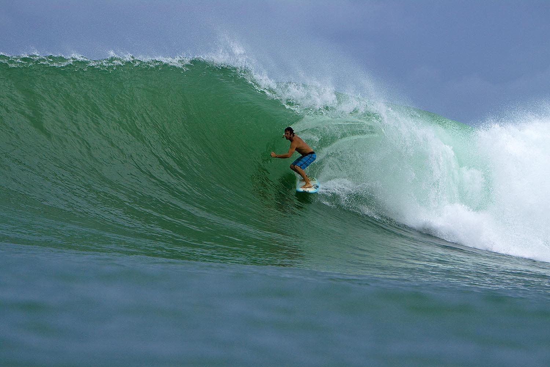 серфинг, доска, волна, море