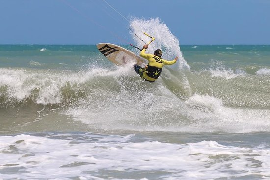 серфинг, парус, доска, море, ветер
